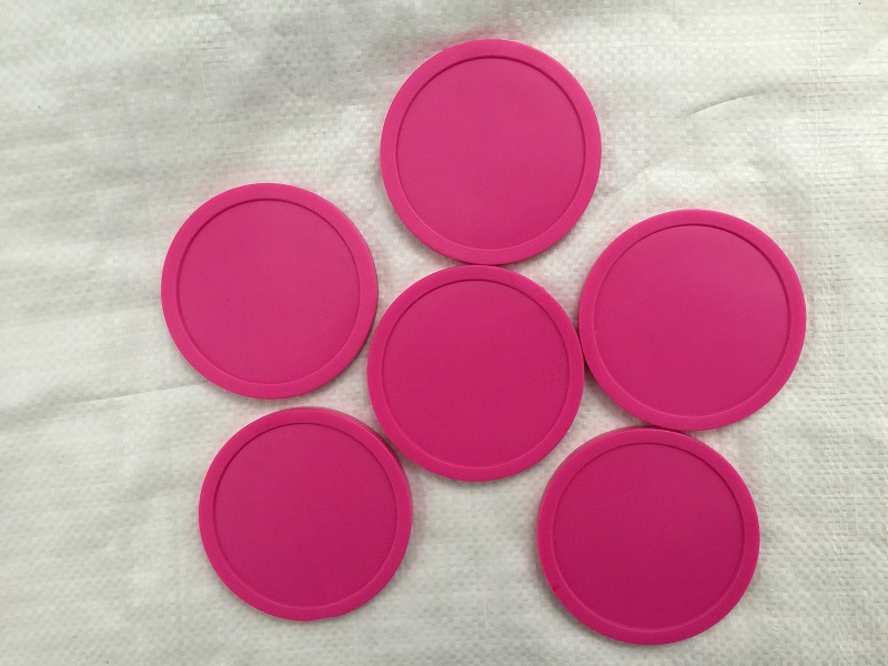 "Free shipping 6pcs/lot pink Air hockey table pusher puck 82mm 3.25"" mallet GoalieS(China (Mainland))"