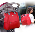New Arrival Elegant Baby Diaper Backpacks Portable Zipper Multifunctional 31 16 35cm Large capacity Changing Bags
