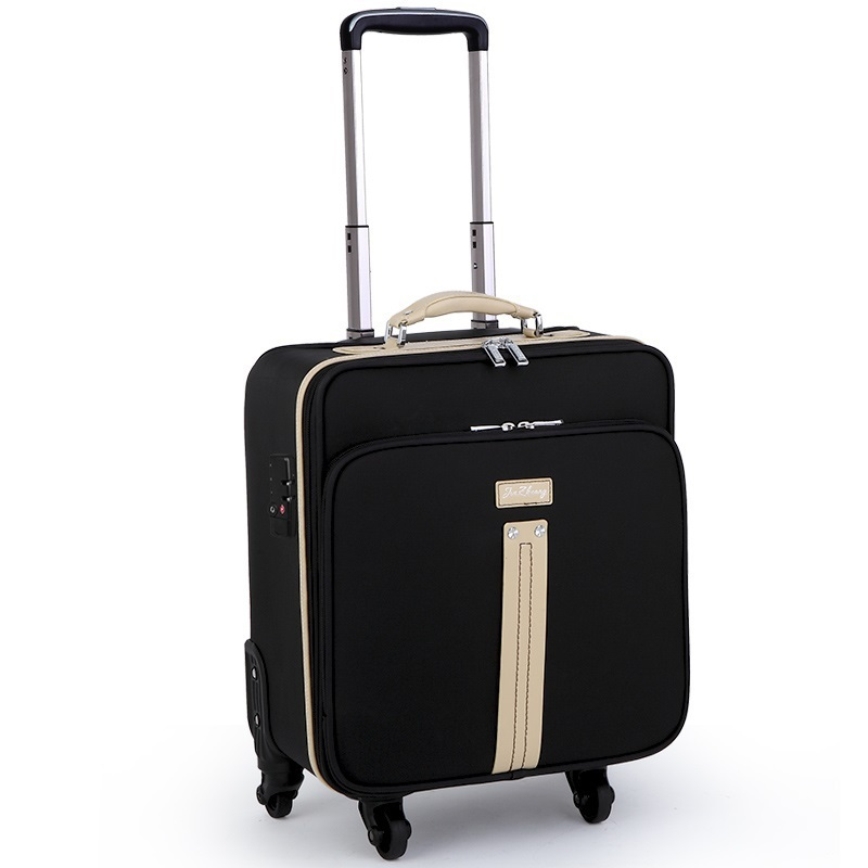 16-inch business woman travel luggage trolley Spinner board Oxford men computer suitcases<br><br>Aliexpress