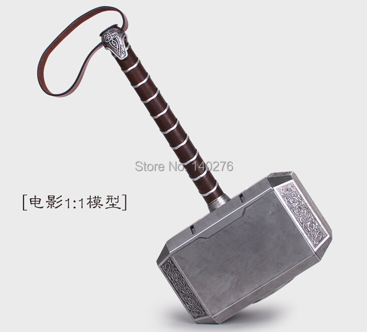 42cm Avengers Thors Hammer Action Figure Thor Superhero PVC Toys brinquedos for Christmas gifts C690 with Retail box by EMS<br><br>Aliexpress
