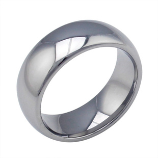 High Polished tungsten carbide rings for mens and women Wedding jewelry 8mm(China (Mainland))