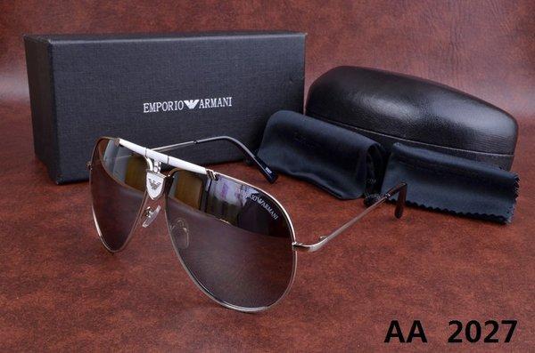 NEW Men High Quality Brand Design Polarized Driving Sports Rectangle Sun Glasses Super Fashion Sunglasses Men with original box(China (Mainland))