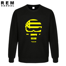 2016 new American Sniper Chris Kyle Men long sleeve Punisher Skull Navy Seal Team Legend Printed Fashion Hoodies, Sweatshirts(China (Mainland))