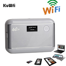4G LTE WIFI Router Unlocked LTE 4G Mobile WiFi Hotspot Portable 5200mAH Power Bank 4G Router With Sim Card Slot&RJ45(China (Mainland))