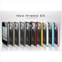 NEO Hybrid EX Bumper Case For iphone 4 Free shipping by DHL 30pcs/lot