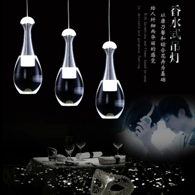Fashion Wine Glass LED Droplight Modern Crystal Pendant Light Fixtures For Living Dining Room Hanging Lamp Home Lighting<br><br>Aliexpress