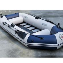Free by DHL 3 person inflatable Boat Fishing Pvc Boats rwing boat drifting boat for drifting with oars pumps and bags(China (Mainland))
