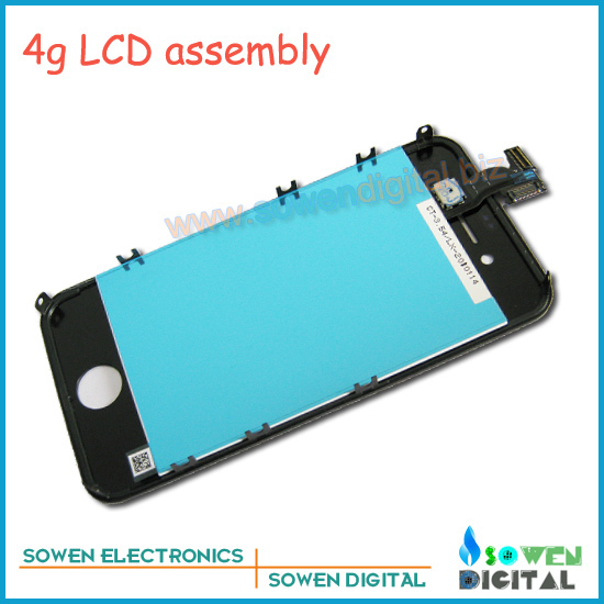 for iPhone 4g 4s LCD assembly,Black and white,12pcs/lot Shipping by UPS/DHL/EMS,Best Price