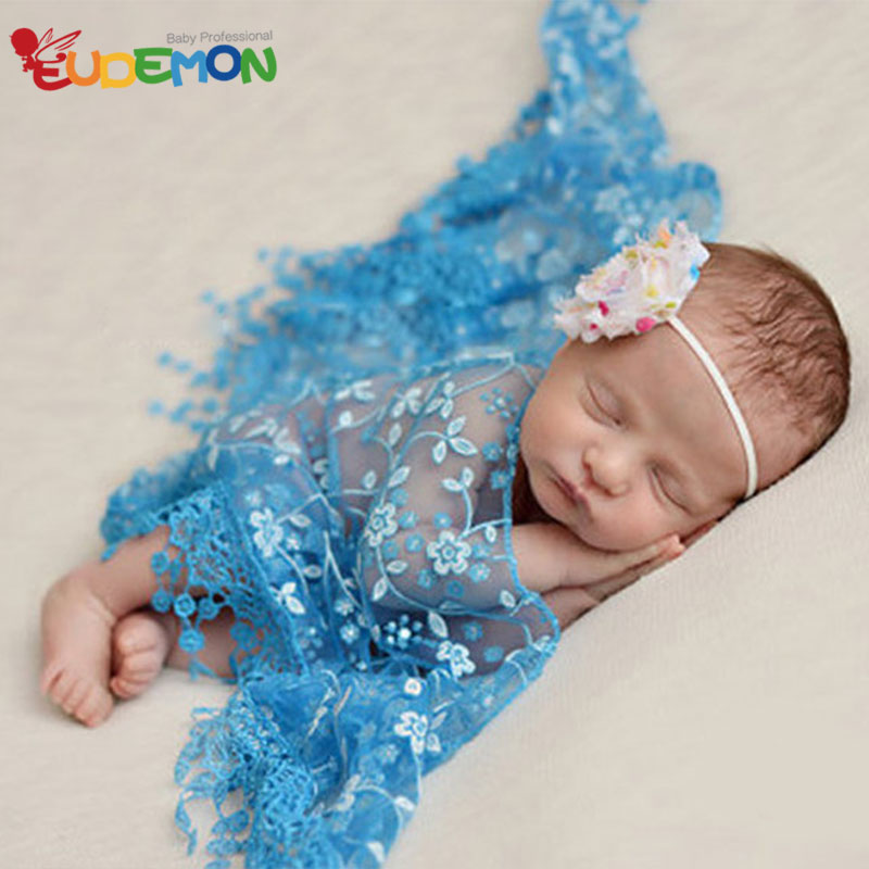 [Eudemon] 2016 newborn photography props New Summer Style fotografia infant baby costumes tassels scarf for babyfotografie(China (Mainland))