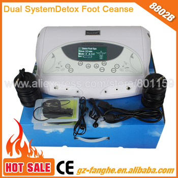 dual working system dual music pattern ion detox foot spa macihne