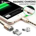 Baseus magnetic cable charger charging Micro USB Adapter For iPhone 5 7 6 6S Plus iPad