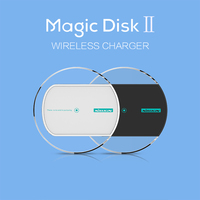 Original Nillkin Magic Disk 2 WPC QI Standard Wireless Charger Charging Pad For Samsung Galaxy Apple iphone And More Phones