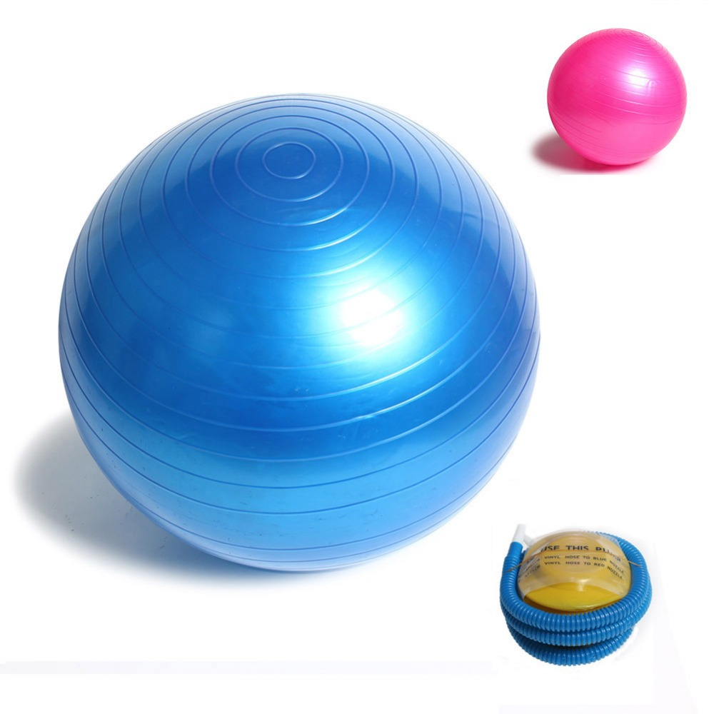 Fitness Yoga Ball 85cm Smooth Fitness Gym Exercise Balls With Pump Balance Pilates Balls(China (Mainland))
