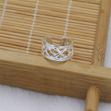 Free Shipping 925  Silver Foot Ring, Hot Sale Women Elegant Adjustable Antique Toe Ring, Foot Beach Jewelry(China (Mainland))