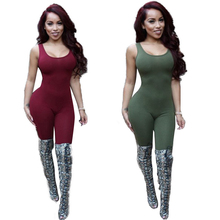 Jumpsuit 2016 Bodycon Backless