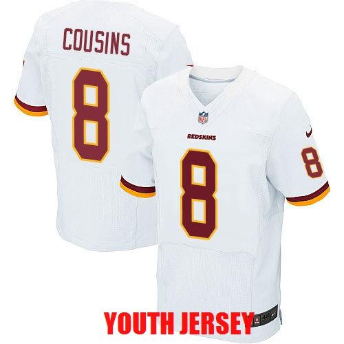 100% Stitiched,Washington Redskin Kirk Cousins John Riggins Ryan Kerrigan Sean Taylor For YOUTH KIDS(China (Mainland))