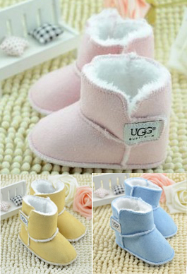 Brand New Baby Boots Warm Winter Boots For Toddler Infant Children Cotton Snow Boots First Walkers 0-18 Months(China (Mainland))