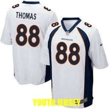 Denver Bronco John Elway Emmanuel Sanders Peyton Manning Von Miller Demaryius Thomas Paxton Lynch John Elway For YOUTH KIDS(China (Mainland))