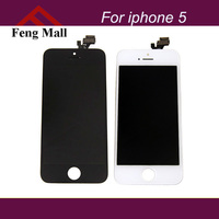 For Apple iPhone 5 Display Screen LCD assembly Touch 100% High quality Guarantee balck white LCD