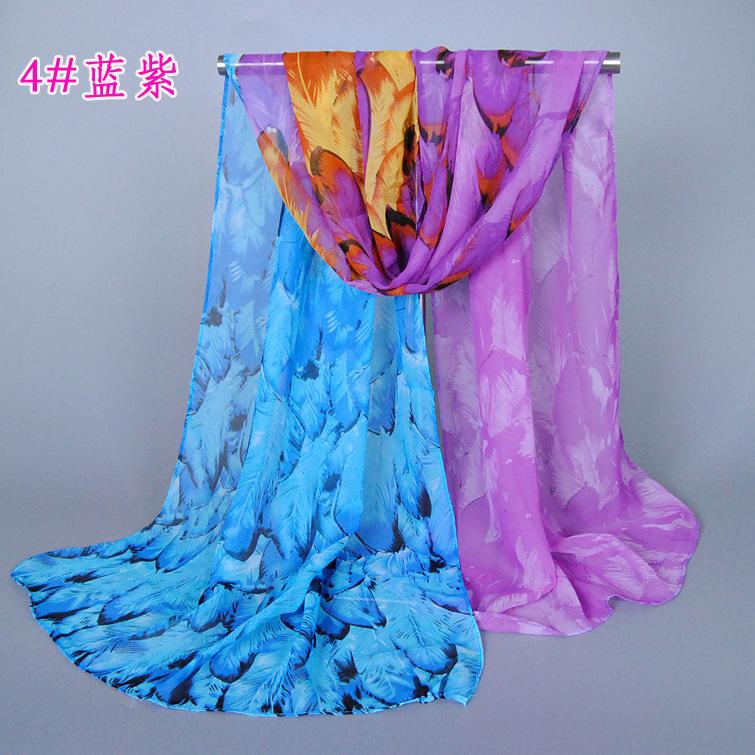 2015 Winter Women Warm Feather Desigual Scarf Fashion Silk Head Scarf Sunscreen Cotton Print Wrap Shawls And Scarves Bufandas(China (Mainland))