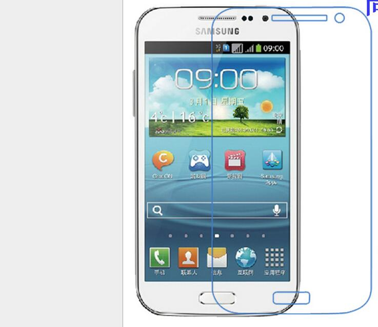 Explosion proof phone film Anti-Fingerprints touch Screen Protector preserving eyesight for samsung Galaxy win I8552(China (Mainland))