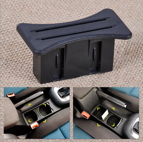 NEW Car Slot Centre Cup Card Holder Coin Console For Volkswagen VW MK6 Golf GTI R20 2008-2012 8z1214(China (Mainland))