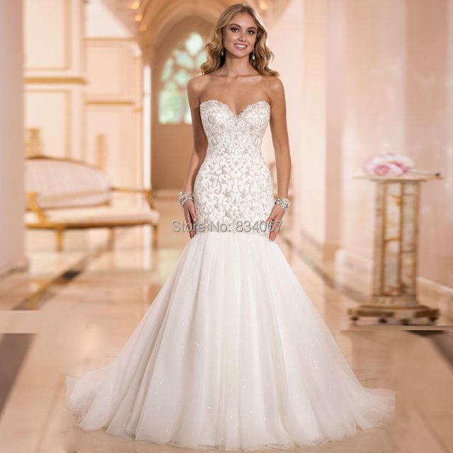 Sweetheart wedding dresses