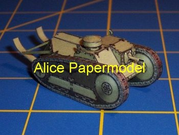[Alice papermodel]1:72 1:48 1:33 Ford 3-ton tank armored vehicles truck car jeep models