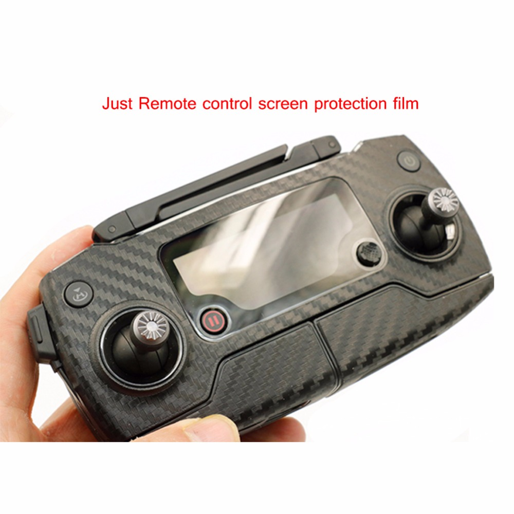 Mavic Pro Remote control screen Camera protective film Dustproof Stroke Prevention Protector covering film for DJI RC Drone(China (Mainland))