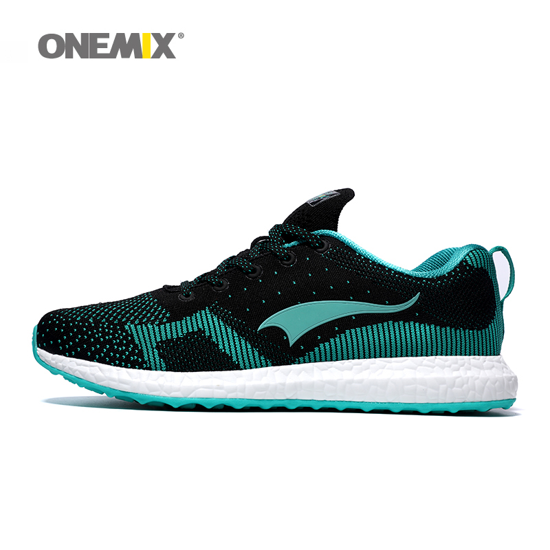 New arrival 2016 Onemix men's running shoes breathable weaving spring sport shoes men's walking shoes free shipping(China (Mainland))