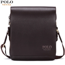 VICUNA POLO New Arrival Fashion Business Leather Men Messenger Bags Promotional Small Crossbody Shoulder Bag Casual Man Bag(China (Mainland))