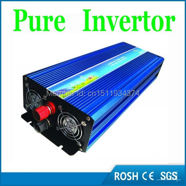 Factory Price 2000W DC to AC 48V to 220/230/240V+Off Grid PV Inverters+Pure Sine wave Car Inverter(China (Mainland))