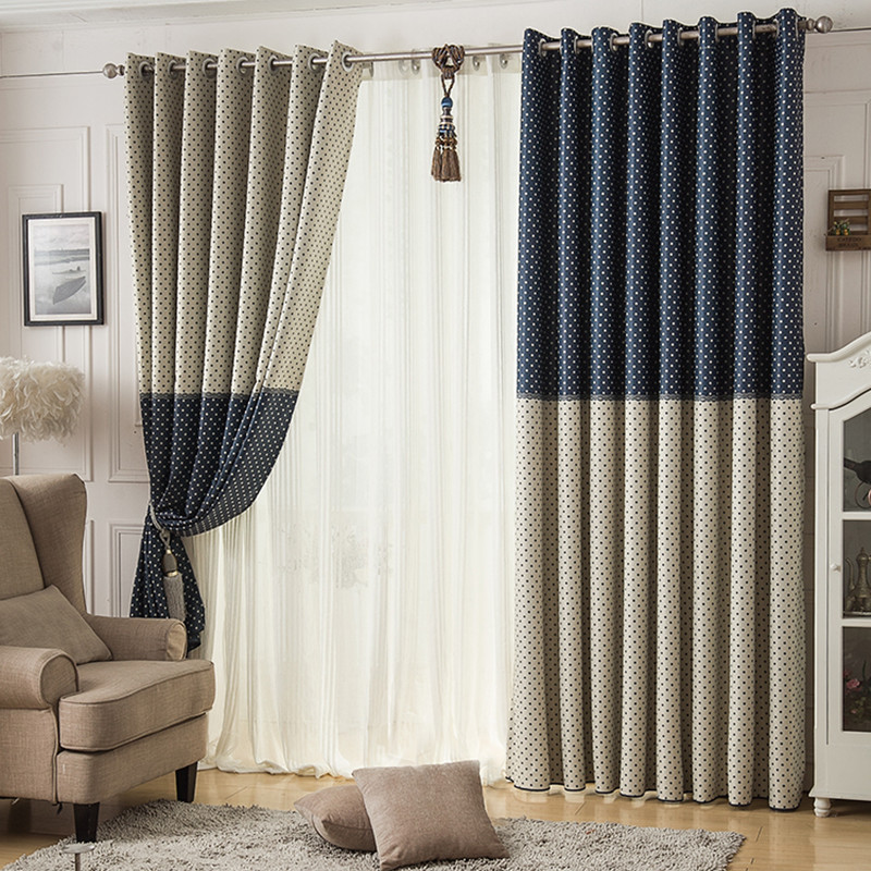 High Quality Morden Curtains For Living Room Bedroom Window Set Of Curtains