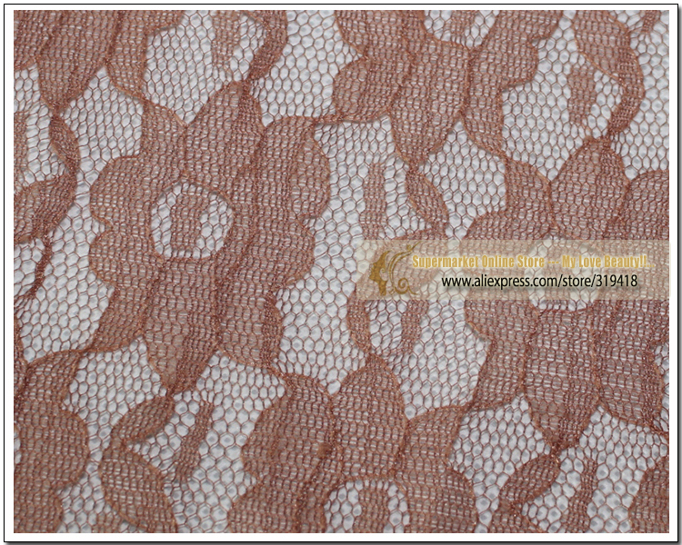 Brown /Black Color Supply Lace net Flower lace Material NET for Making Lace Wig Wig Caps hair extention weaving net F52(China (Mainland))