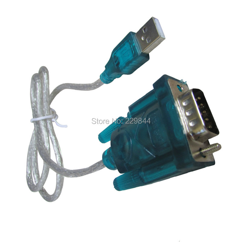 USB 2.0 TO SERIAL RS232 DB9 9 PIN ADAPTER CABLE PDA for Windows XP/win7 with 94CM CABLE RS232 Converter COM Port(China (Mainland))