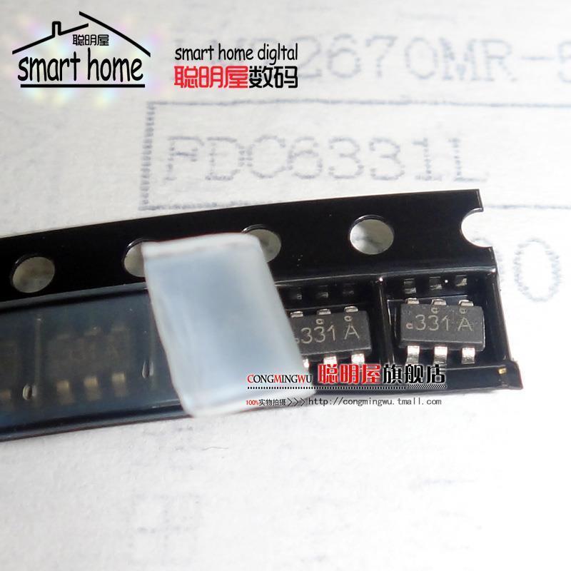 Free shipping IC FDC6331L SOT23 load switch(China (Mainland))