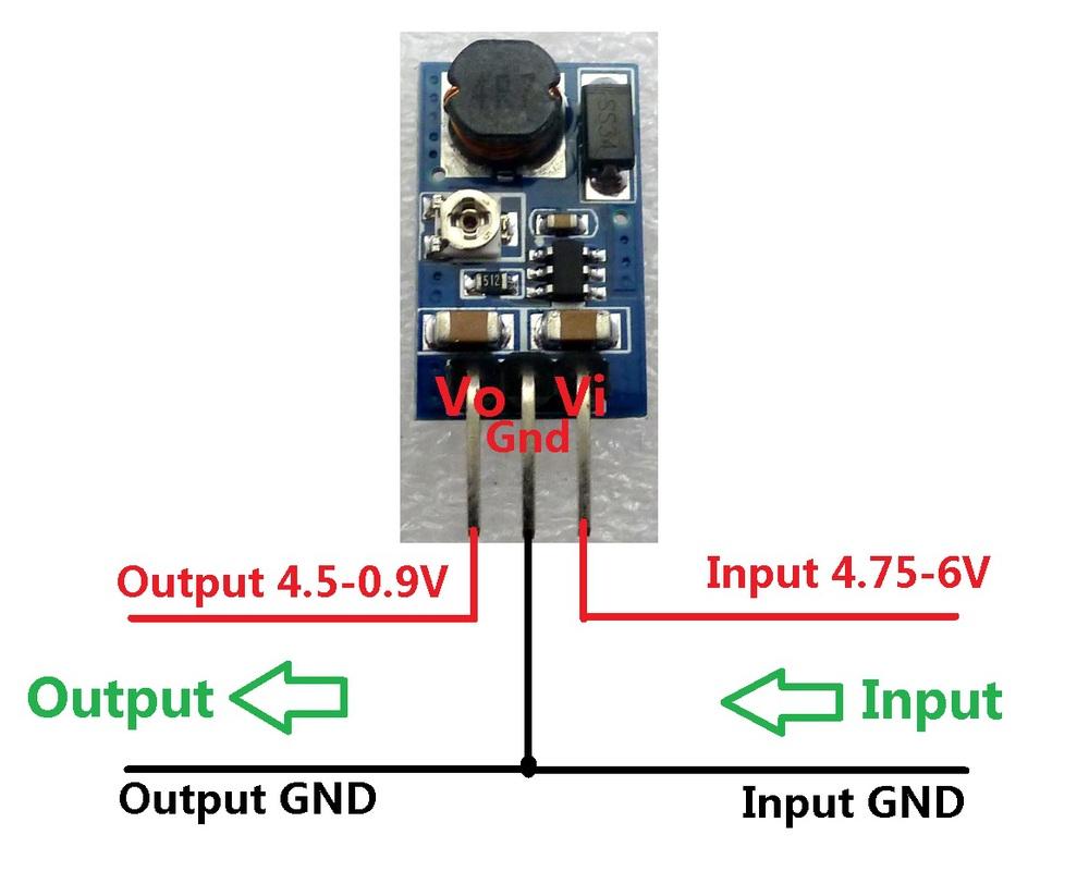 10x mini 2a dc dc adjustable step converter 5v 6v to 2 5v 3v 3 3v 3 7v 4 2v ebay