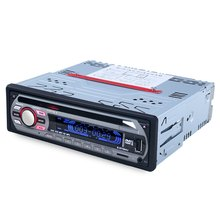 Car Stereo FM Radio MP3 Audio Player Support FM USB SD DVD Mp3 Player AUX Mic with Remote Control radio In-Dash1 DIN A key Mute(China (Mainland))