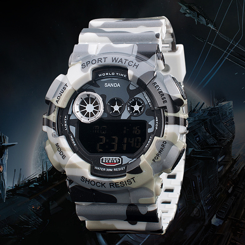 New Products Sell Like Hot Cakes In 2015 Male Sports Watch Climbing Cycling Running Multi-functional Waterproof Digital Watches(China (Mainland))