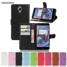 Oneplus 3t Case 5.5 inch Luxury Wallet Pu Leather Phone A3003 A3010 One Plus 3T 3 T Flip Back Cover Bag - ShenZhen L&Y Factory Store store
