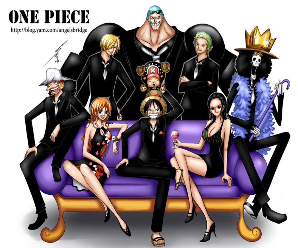 One Piece Istri Luffy OP Anime