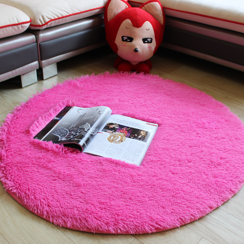 pink 100cm modern decorative area rugs for a living room cheap bedroom
