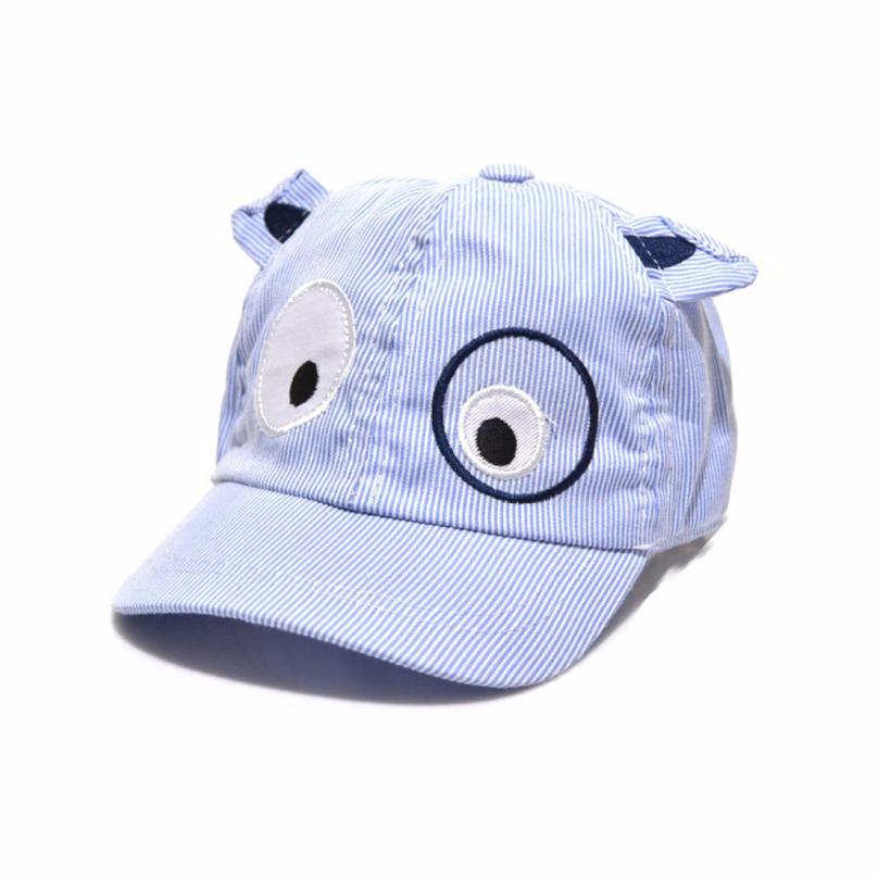 Kids Boys Girls Cute Baseball cap Cartoon Dog Beret Hat Sun Hat Cotton Baseball Cap