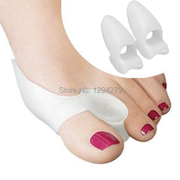 1Pair Silicone Gel Foot Toe Separators Stretchers Bunion Protector Straightener Corrector Alignment Health Care Products Oa  -  LYanF Store store