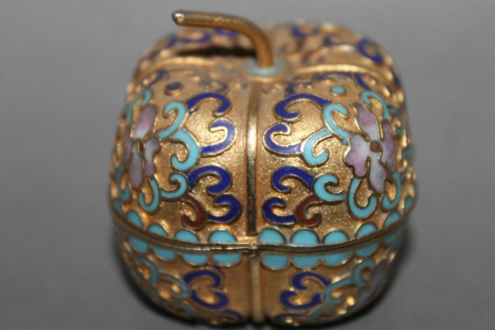 Stare ukrasne kutije za nakit ... - Page 4 Exquisite-Small-Chinese-Vintage-Cloisonne-Handwork-Apple-shape-Flowers-font-b-Jewellery-b-font-font-b