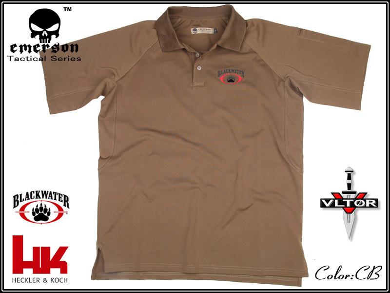 EMERS Performance Polo shirt S-XL free shipping(China (Mainland))