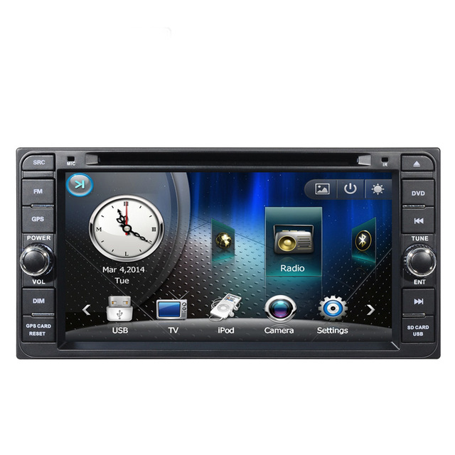 High quality Car Radio DVD player GPS for Toyota Alphard/Altis/Avensis/Corolla/camry/Celica/Vitz/Wish/Terios/Tundra/Rush(China (Mainland))