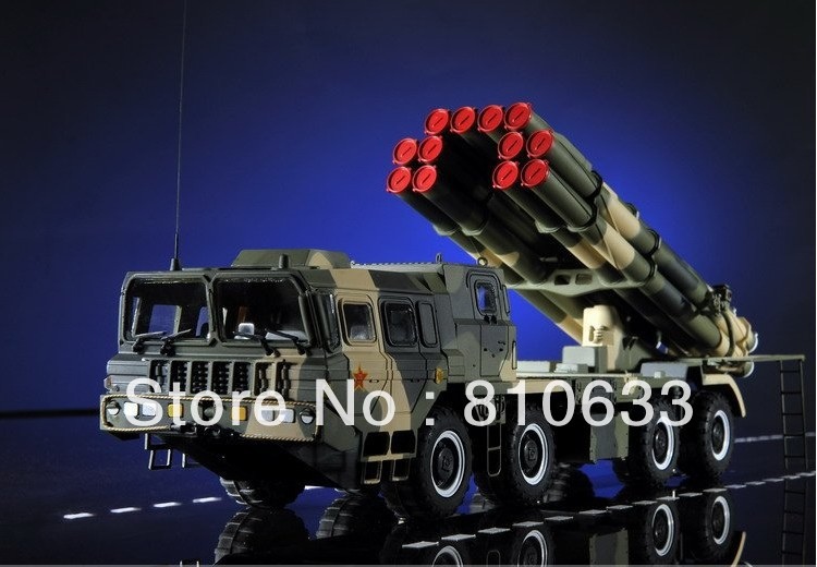 free shipping 2012 promotion1:35 China Military model war model A100Bazooka vehicles Military Handicraft collection(China (Mainland))