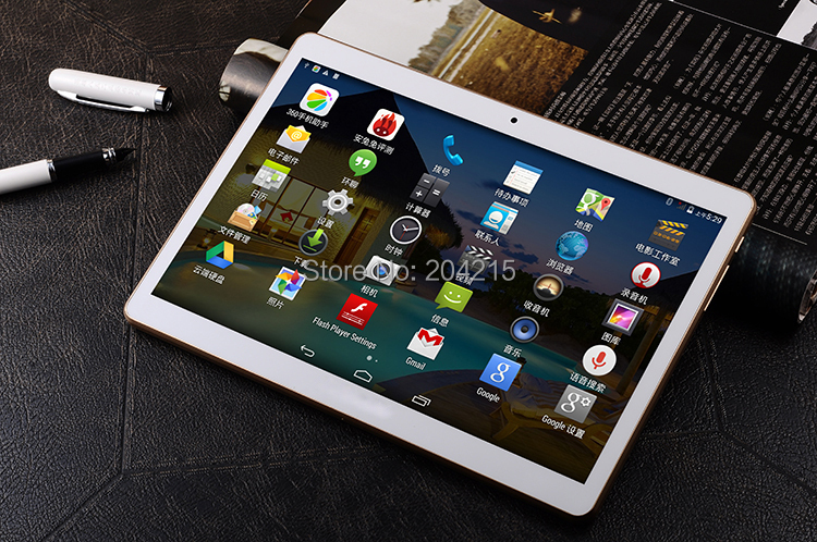 Free Shiping New 3G Tablet PC Phone Call MTK6582 Quad Core GPS Android 4 4 Bluetooth