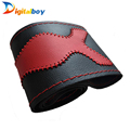 Brand New Universal 38cm Leather Car Steering Wheel Cover Fashion DIY Braid with Needles and Thread